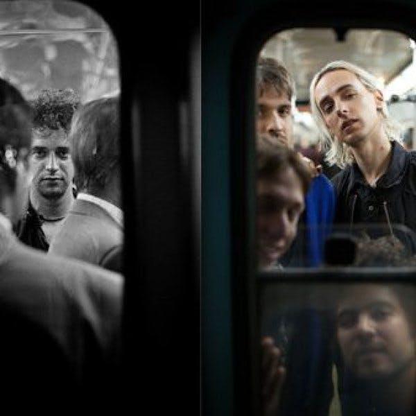 Benito Cerati: Tomamos fotos en el Metro y una quedó parecida a las de mi padre, pero no vinimos a hacer ningún homenaje