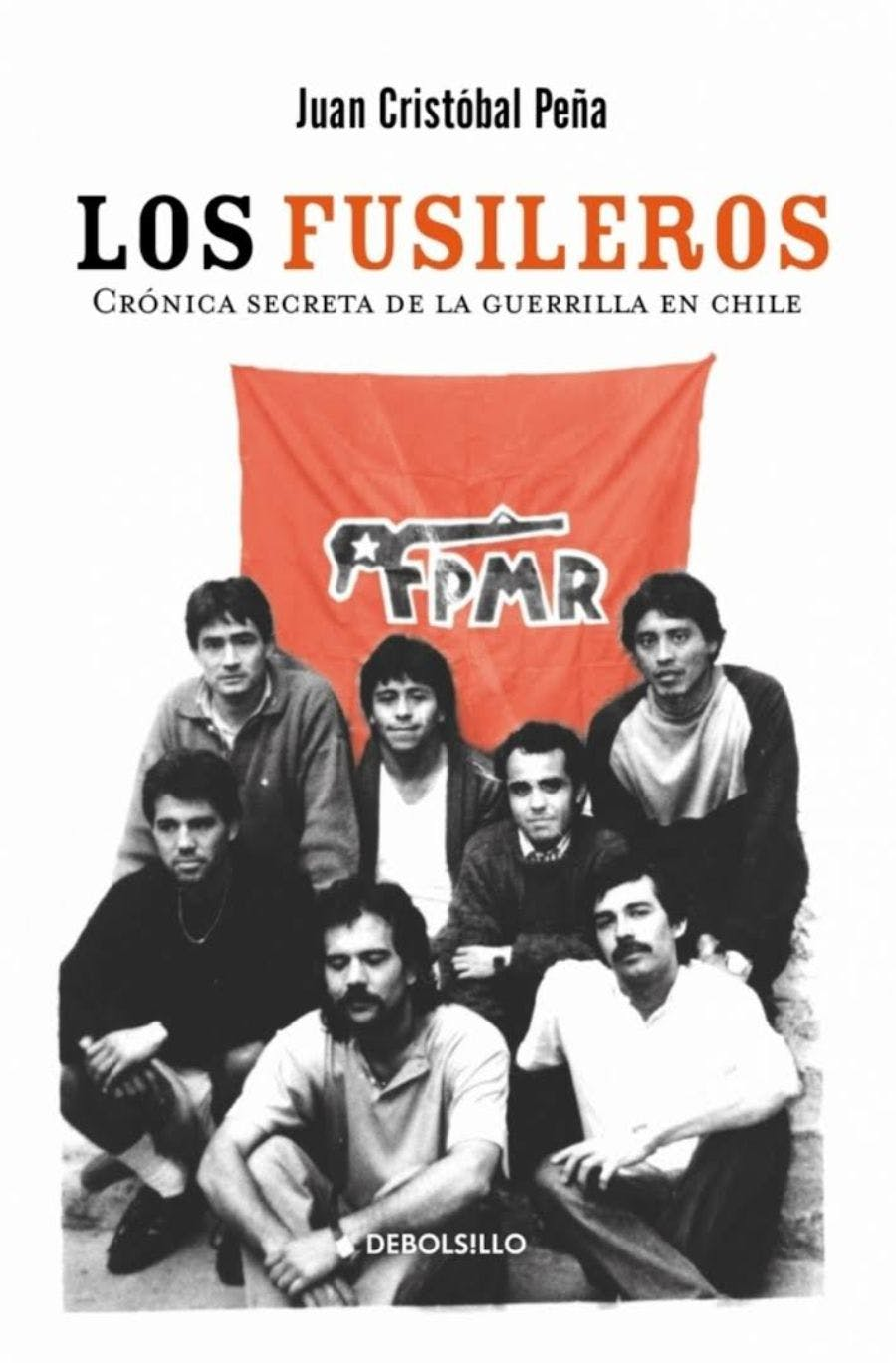 Juan Cristóbal Peña y libro Los fusileros