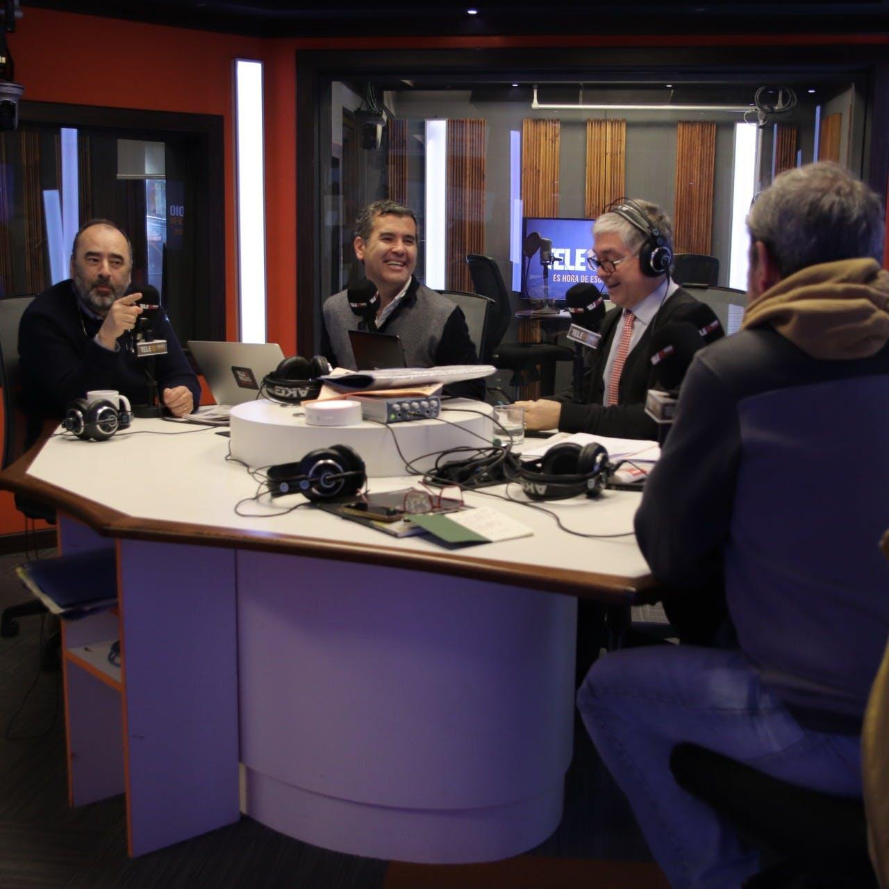 Joignant, Guzmán y Mujica analizaron la administración del 4% de las pensiones y la carrera presidencial - Podcast - Mesa Central - Columnistas - Emisor Podcasting