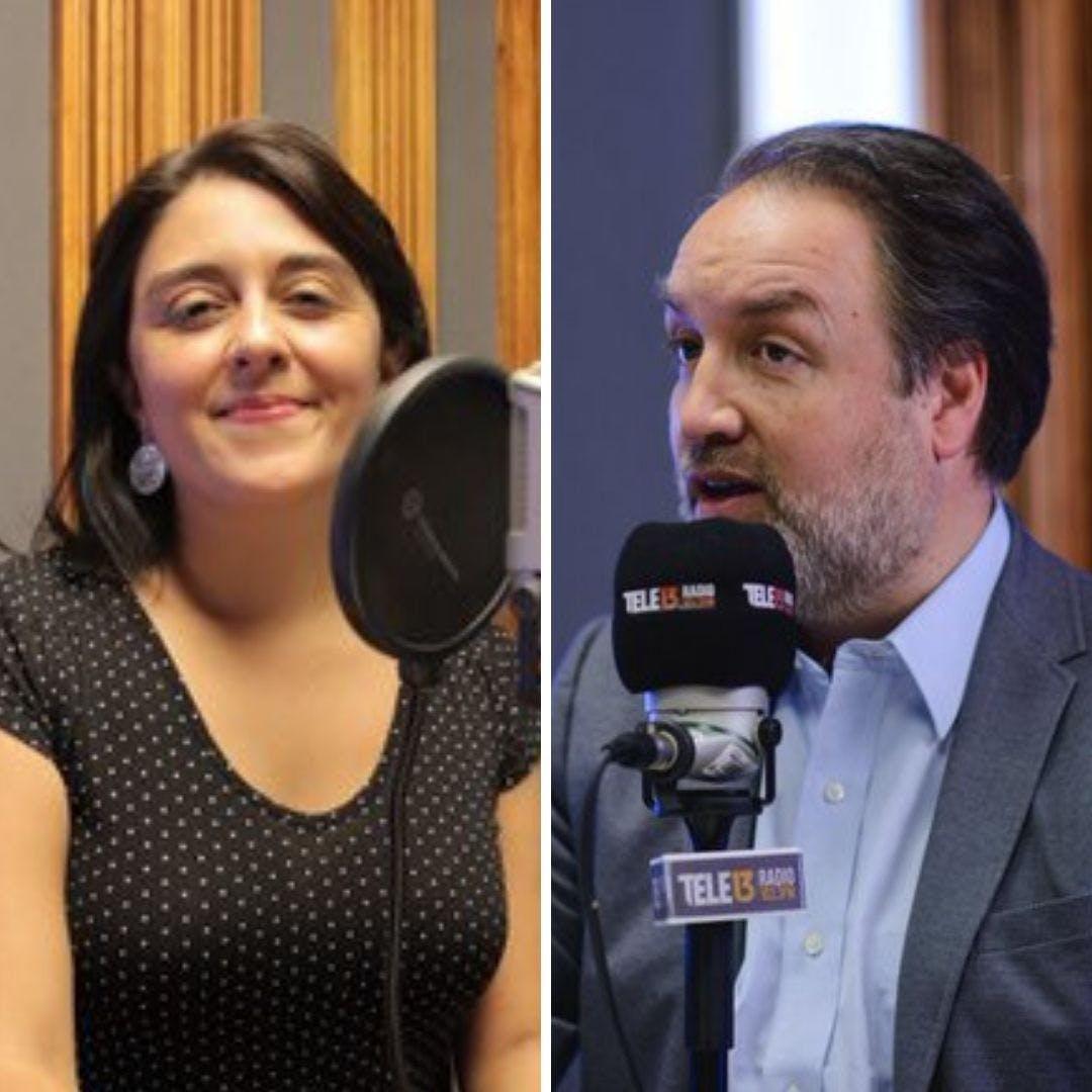 Müller y Sandoval por proyectos laborales del PC y Gobierno - Podcast - Conexión - Panelistas - Emisor Podcasting