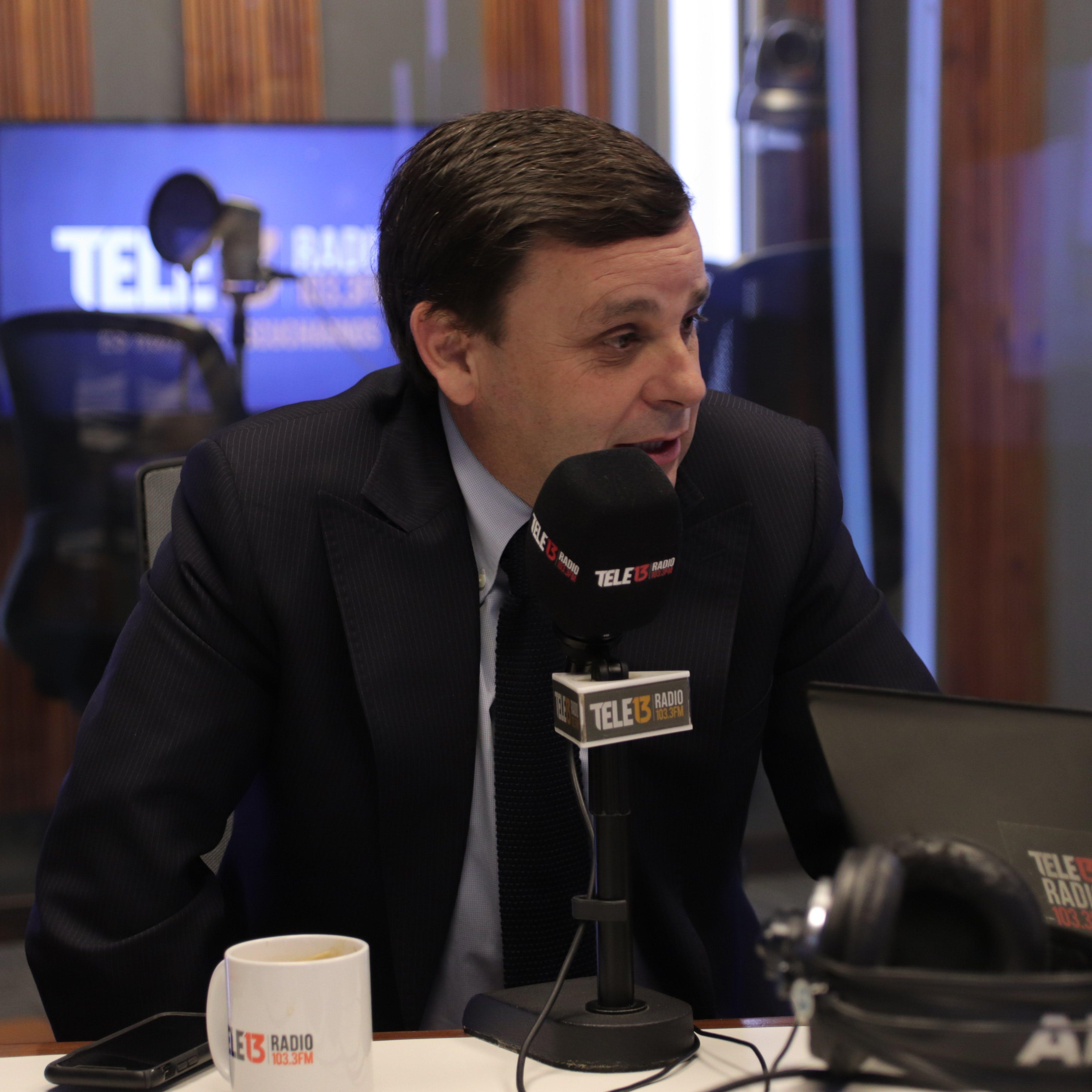 """Alfonso Swett (CPC) y reducción jornada: """"El gobierno claramente perdió la batalla comunicacional, y lo más probable es que también pierda la política - Mesa Central - Entrevista - Emisor Podcasting"""