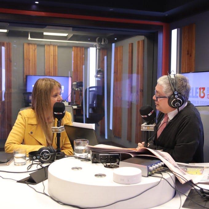 """Senadora Van Rysselberghe sobre proyecto 40 horas: """"Cuando las cosas son sólo populares, pero irresponsables y quién toma la decisión no asume los costos, eso es populismo - Mesa Central - Entrevista - Emisor Podcasting"""