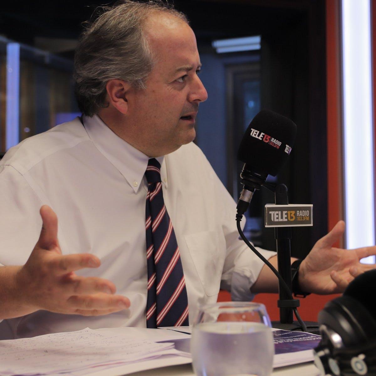 """Ministro Monckeberg por 40 horas: """"No vamos a esperar que el proyecto recorra todo el camino de tramitación para ir al tribunal constitucional"""" - Podcast - Protagonistas - Entrevista FM - Emisor Podcasting"""