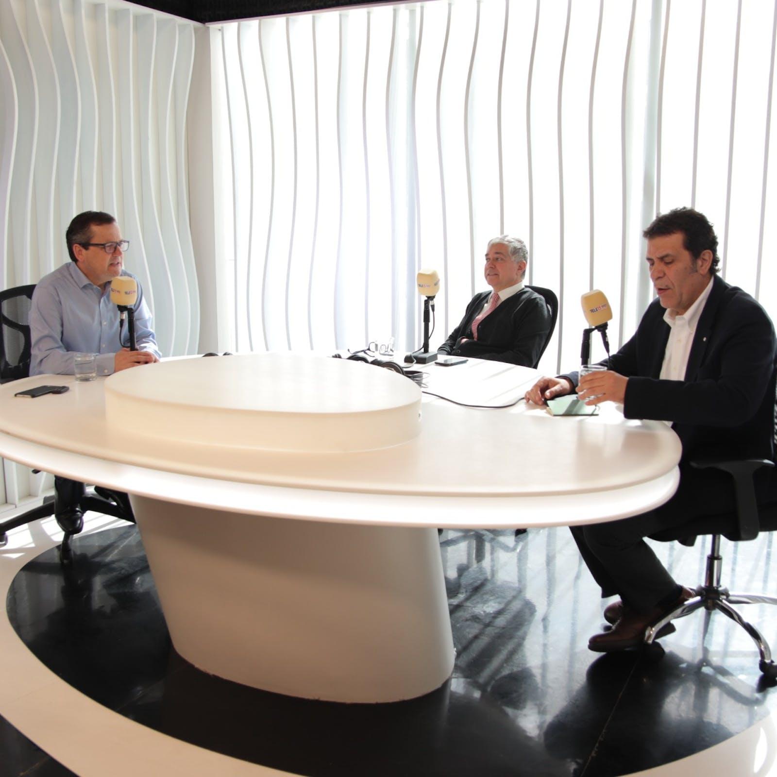 Bofill y Moreno por mesas técnicas del gobierno