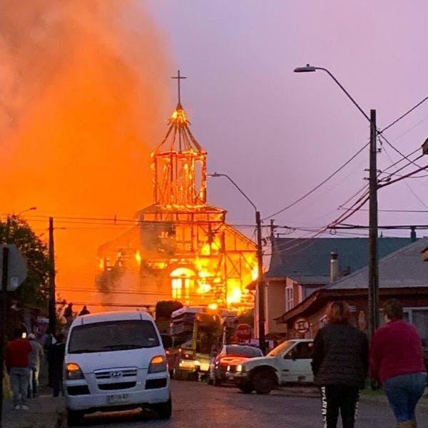 Alberto Larraín, vicepresidente de la Fundación Iglesias Patrimoniales de Chiloé: La iglesia San Francisco era la construcción patrimonial más grande que tenía Ancud