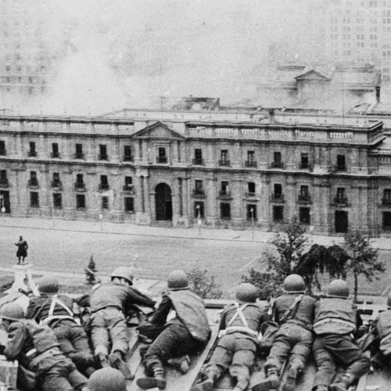 11 de Septiembre de 1973 en la TV Chilena