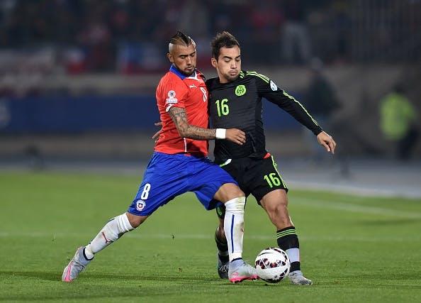 Copa América 2015, 15 de Junio: Chile vs. México
