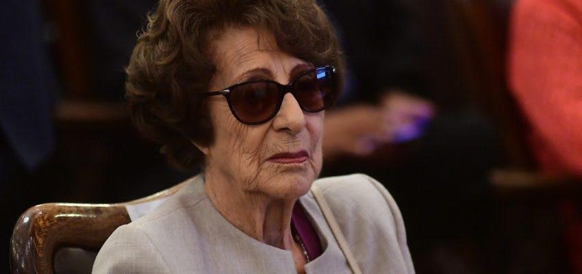 Así Se Informó La Muerte de Ángela Jeria, la Madre de la Ex Presidenta Michelle Bachelet